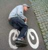 скутер сбрасывает обороты