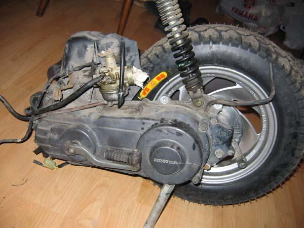 Ремонт и настройка скутера своими руками 80