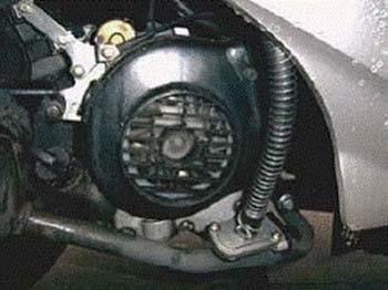 Регулировка зазора клапанов на четырехтакных скутерах