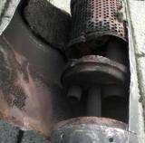 Увеличить: Устройство глушителя четырехтактного скутера