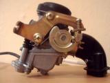 Увеличить: Устройство карбюратора  четырехтактного скутера